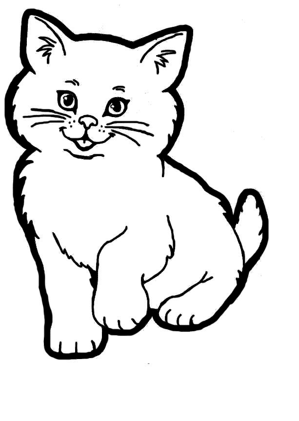 613x863 Cat Line Art Clipartsco, Warrior Cats Black And White Clip Art