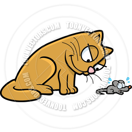 460x460 Cat And Mouse By Cory Thoman Toon Vectors Eps