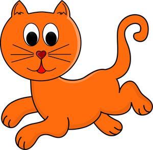 300x294 Cute Cat Clip Art Clipart Free Clipart Images