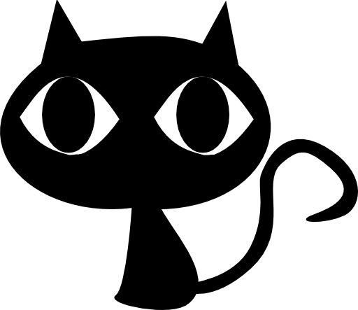 512x443 Black Cat Clip Art Many Interesting Cliparts