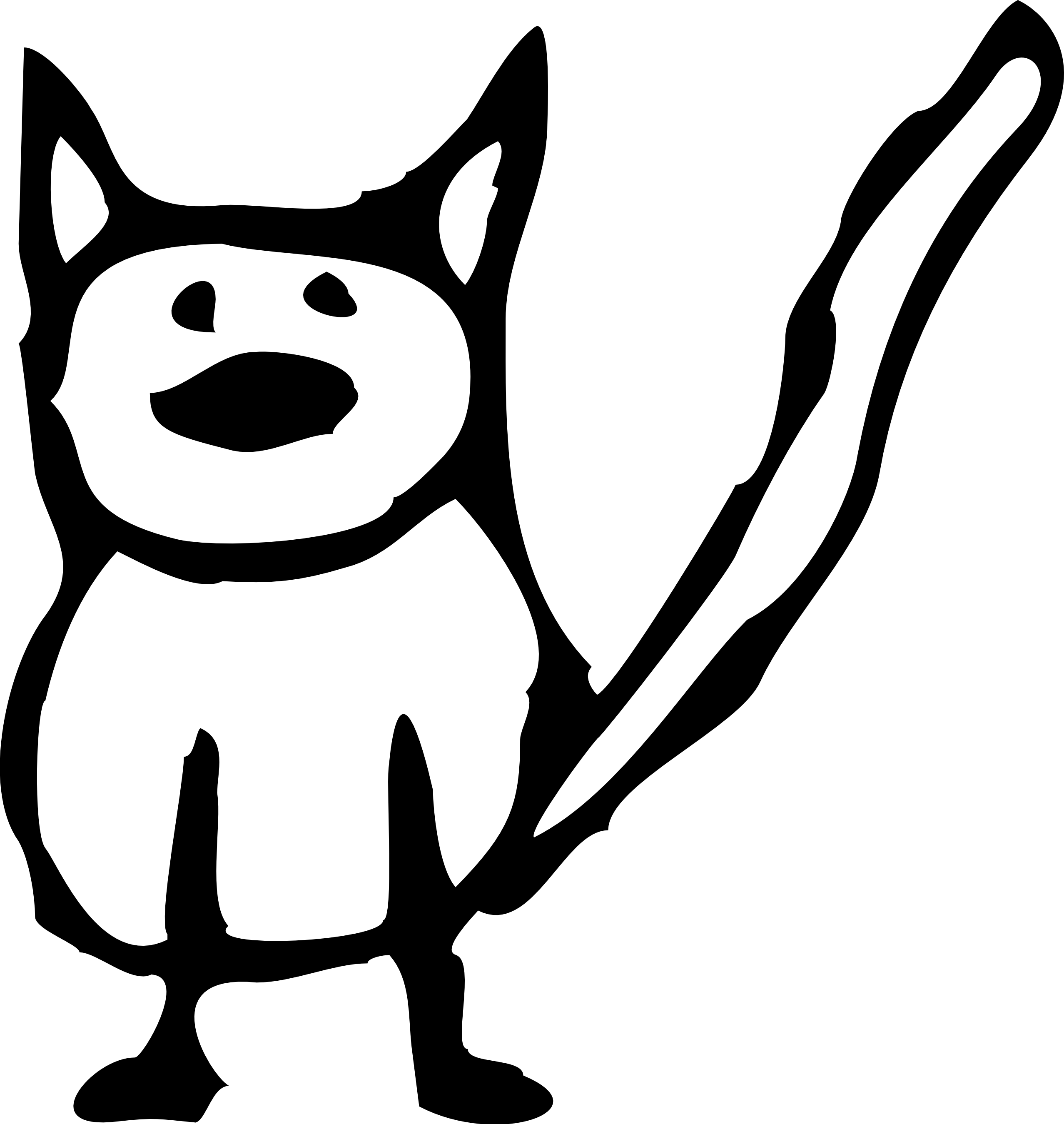 2555x2699 Black And White Cat Clipart