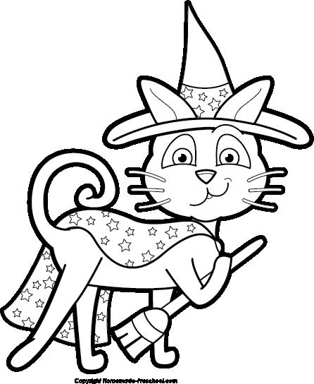 446x544 Cute Halloween Cat Clipart Photo Album