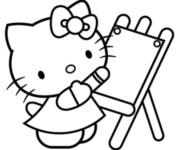 760x638 Kitty Clip Art