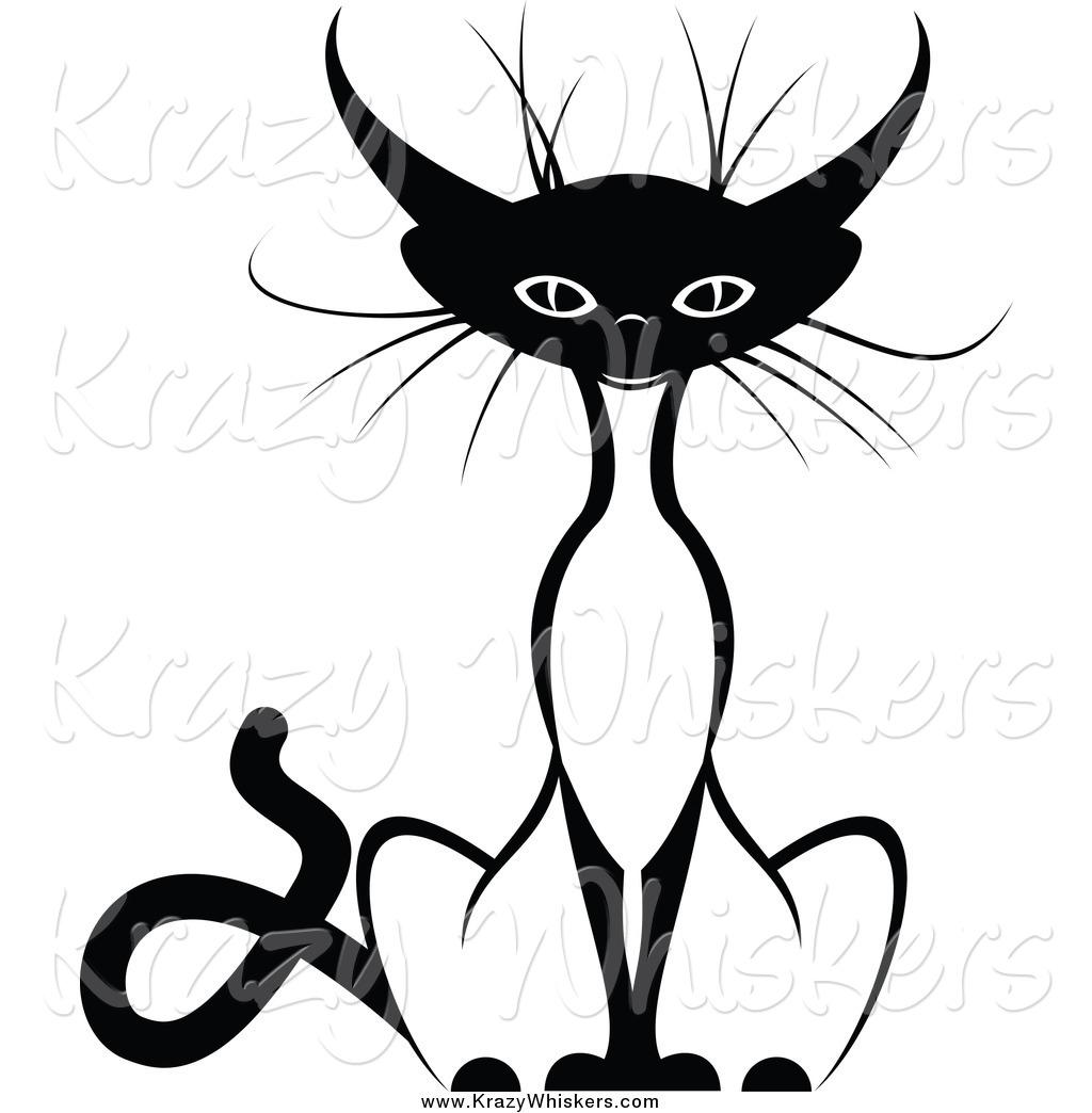 1024x1044 Siamese Cat Clipart Black And White