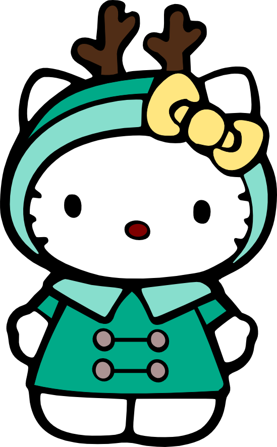 549x886 Christmas Hello Kitty Clip Art Clip Art
