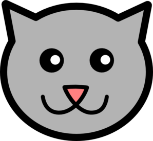 298x276 Cartoon Kitty Clip Art