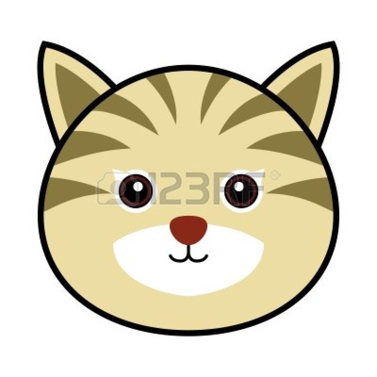 1200x1200 Clipart Cat Face