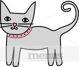 300x257 Cat Clipart Kids Menu Clipart