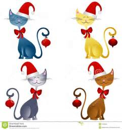 241x258 Christmas Cat Clipart Clipart Kid, Two Christmas Cats Clip Art