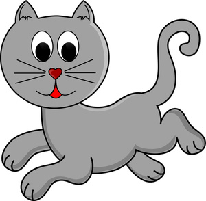 300x294 Free Cat Clipart Pictures