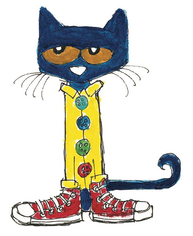 653x800 Free Pete The Cat Clipart