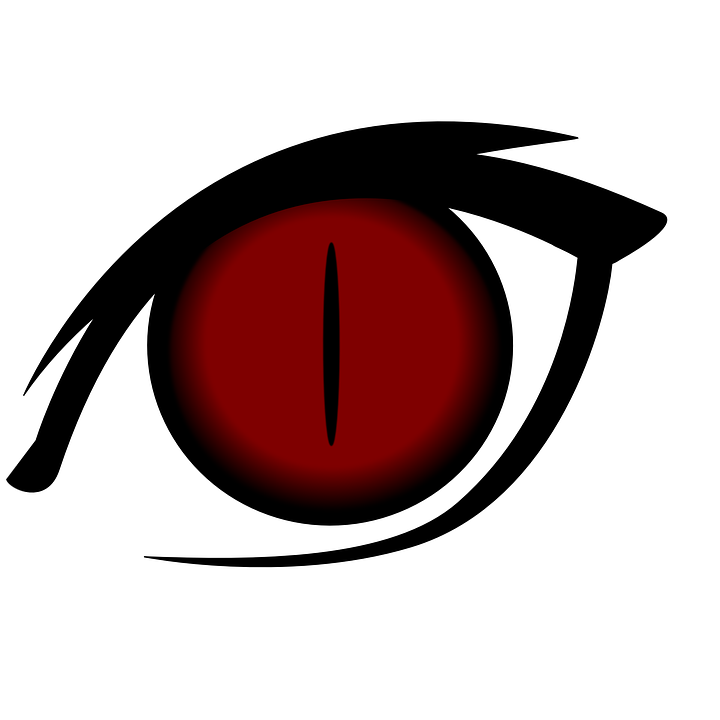 720x720 Red Eyes Clipart Transparent