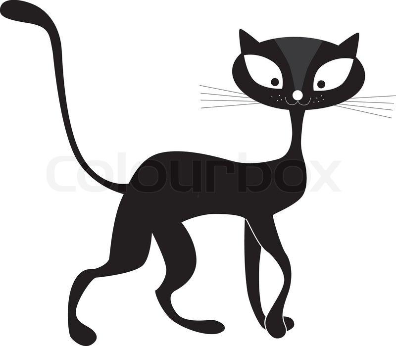 800x699 Animals, Art, Background, Beautiful, Black, Cartoon, Cat, Clip