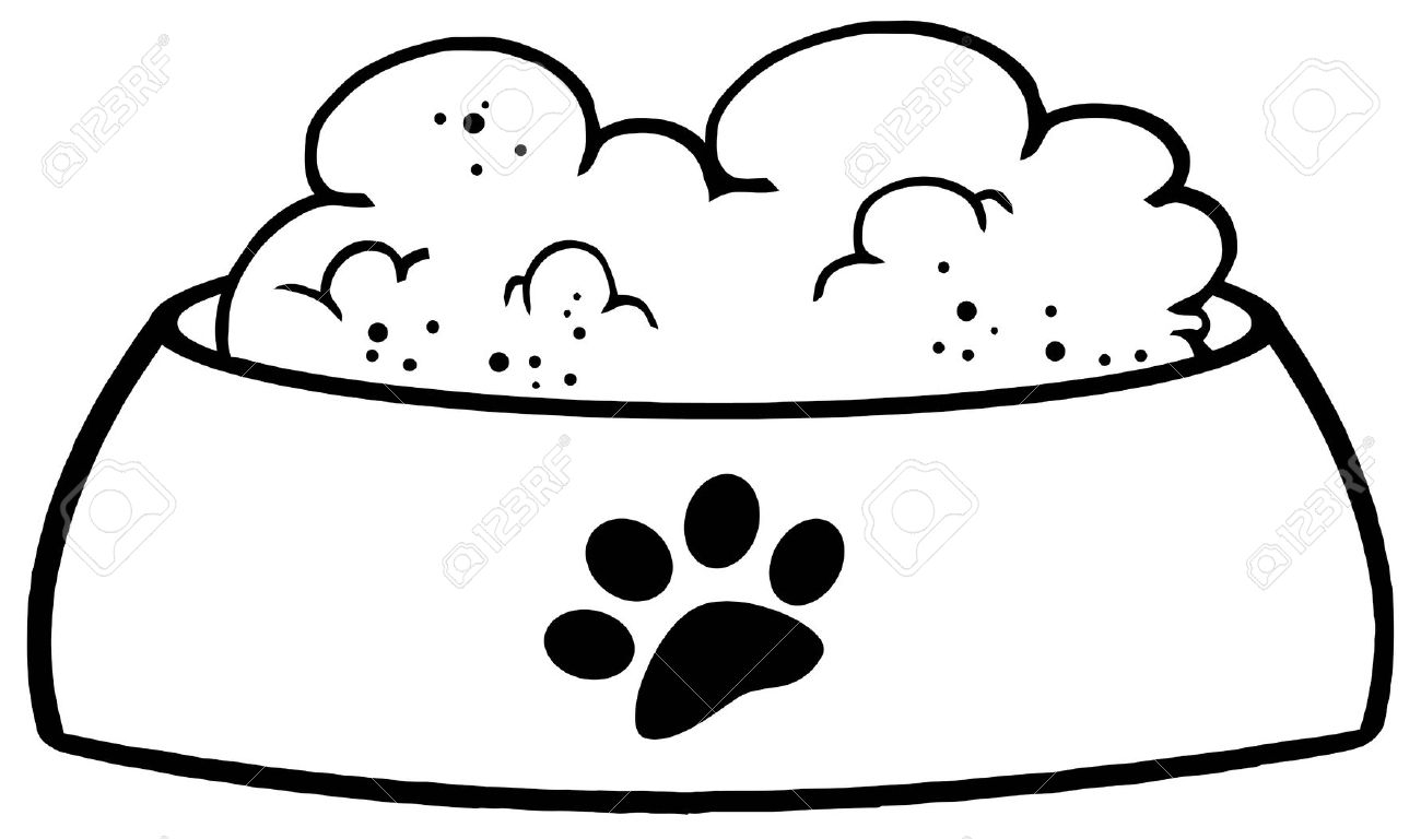 1300x768 Cat Food Bowl Clip Art Cliparts