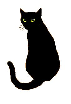 229x335 Interesting Black Cat Clipart Cute Halloween Clip Art Images