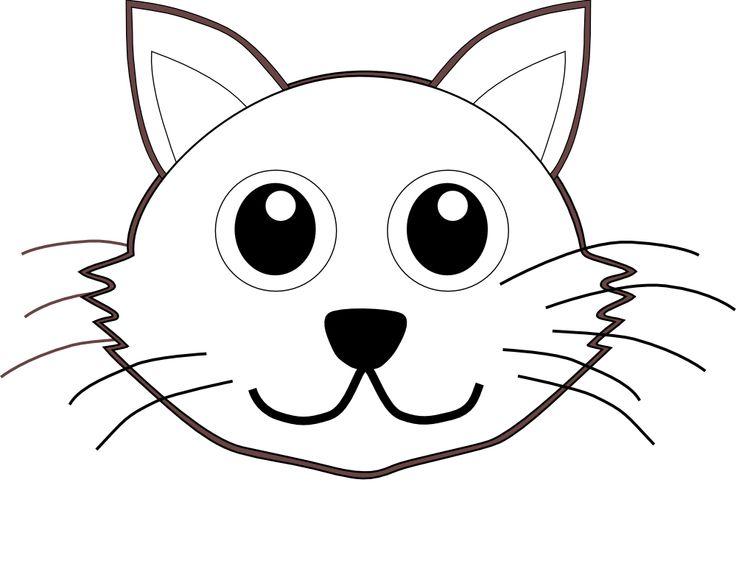 736x580 Kitten Face Clipart