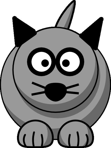 444x593 Cartoon Cat Clip Art