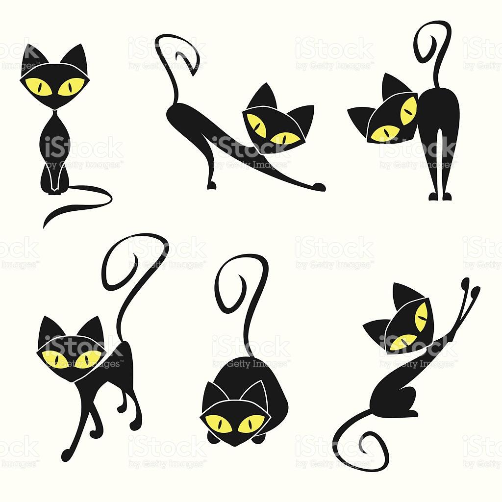 1024x1024 Feline Clipart Vector