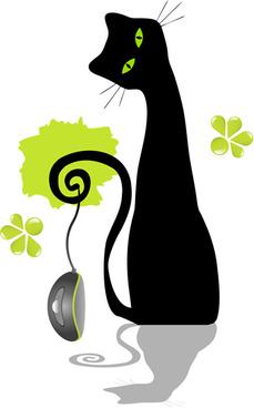 229x368 Black Cat Clip Art Free Vector Download (214,188 Free Vector)