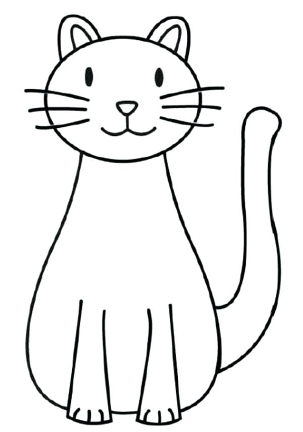 600x855 Free Cat Colouring Pages Sleepy Hello Kitty Coloring Page O Kids