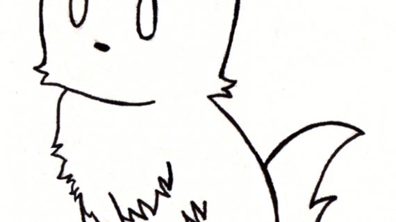 570x320 Cute Cat Drawings