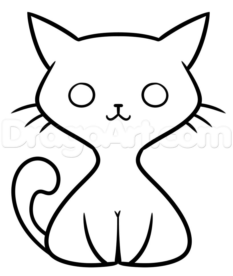 817x966 Resultado De Imagen Para Cat Drawing Cats Cat