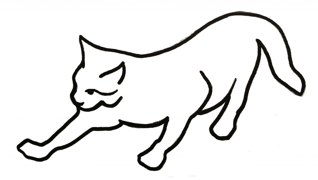 Cat Drawing Free Download Best Cat Drawing On Clipartmagcom