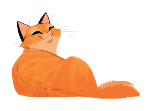 500x373 Daily Cat Drawings