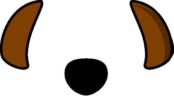 600x359 Dog Black Brown Ears Clip Art