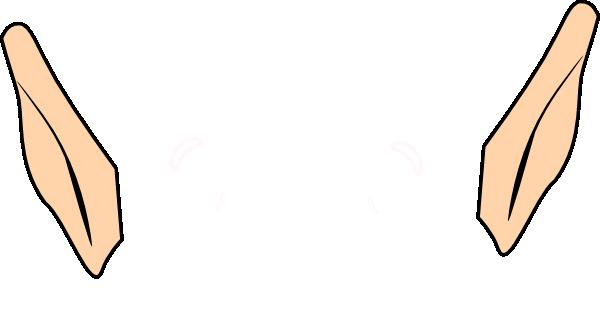 600x329 Elf Ears Clip Art