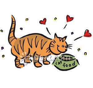 300x284 Eating Cat Food