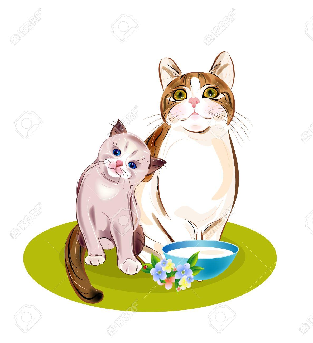 1187x1300 Kittens Clipart Small Cat
