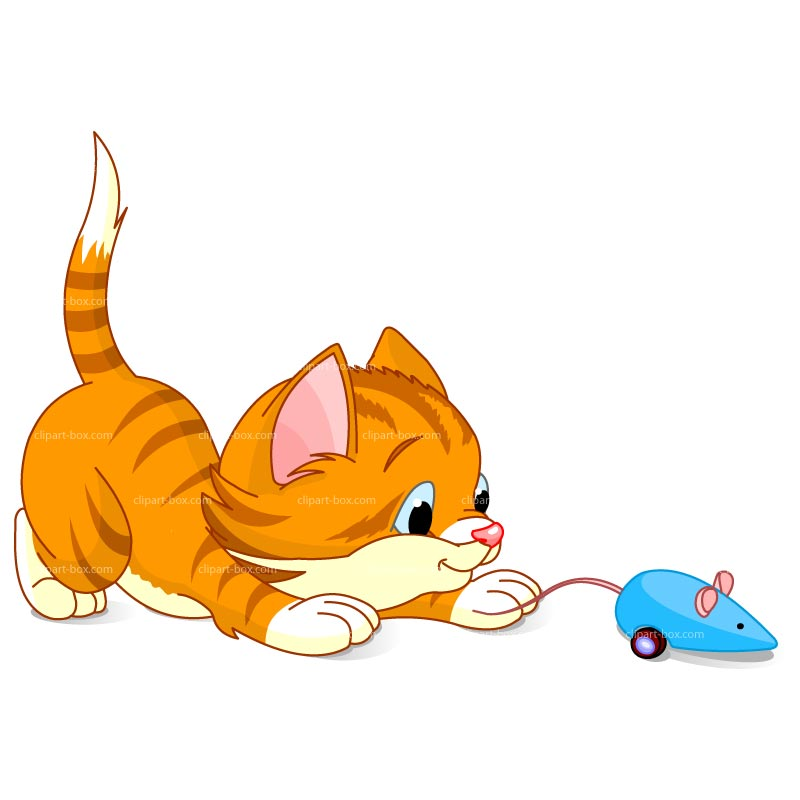 800x800 Cat And Mouse Clipart