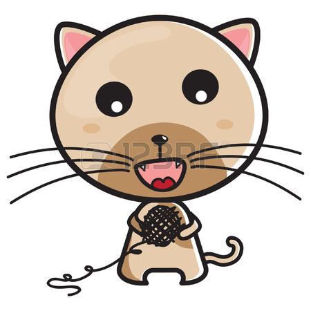 450x450 Cat Eating Fish Royalty Free Cliparts, Vectors, And Stock