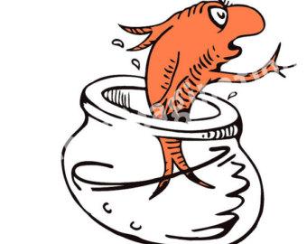 340x270 Dr Seuss Clip Art Fish Free Clipart Images