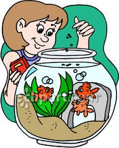241x300 Feed Fish Clipart