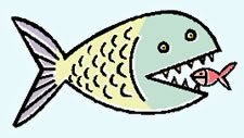 225x127 Fish Eating Clipart, Explore Pictures