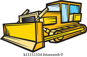 296x194 Bulldozer Clipart And Illustration. 4,344 Bulldozer Clip Art