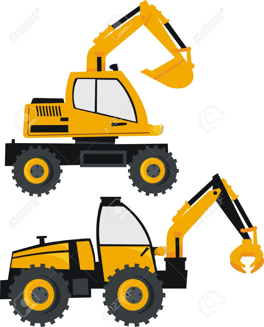1052x1300 Cat Clipart Backhoe