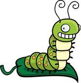 166x170 Caterpillar Clip Art