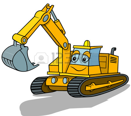 450x400 2,297 Vector Excavator Cliparts, Stock Vector And Royalty Free
