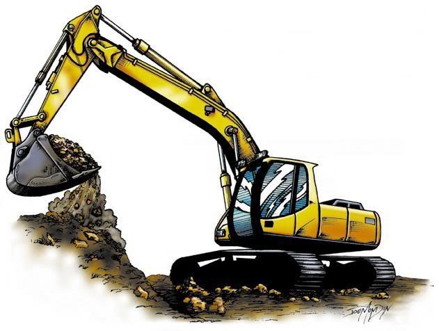 631x476 Clip Art Excavator Bucket Clipart
