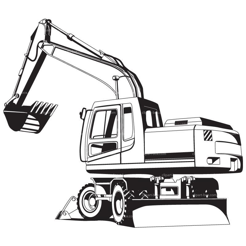 800x800 Clip Art Excavator Bucket Clipart