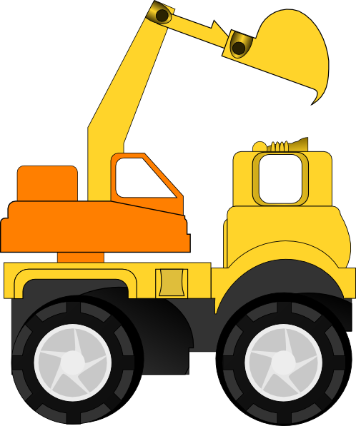 498x597 Excavator Clipart