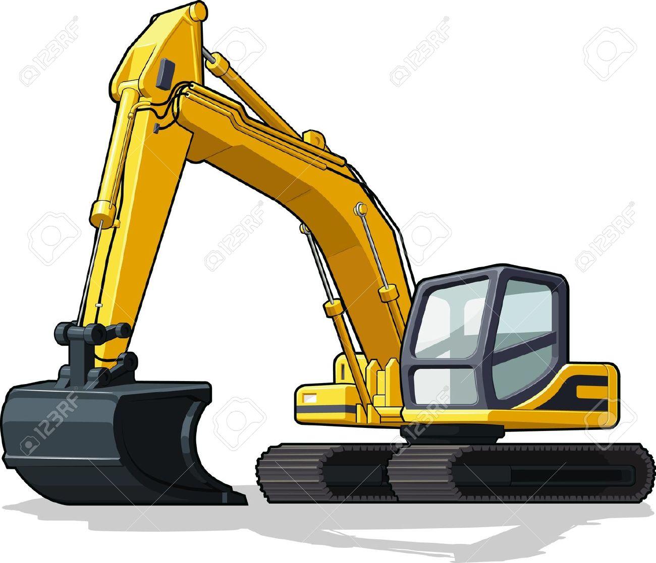 1300x1117 Excovator Clipart Cat Excavator