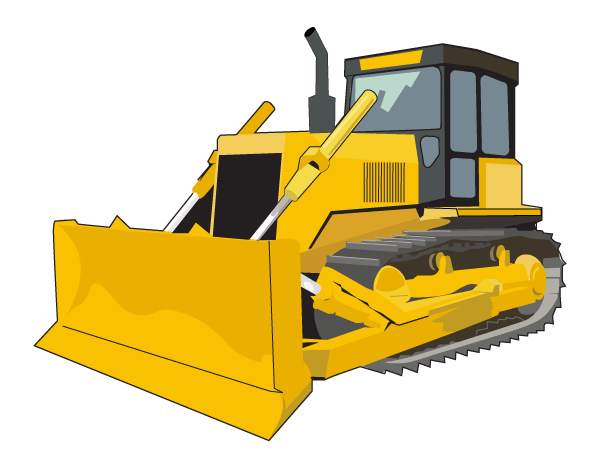 600x460 Free Caterpillar Equipment Clipart