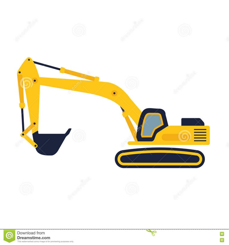 768x821 Excavator Cat Shovel Machine Digger Machine World's Largest