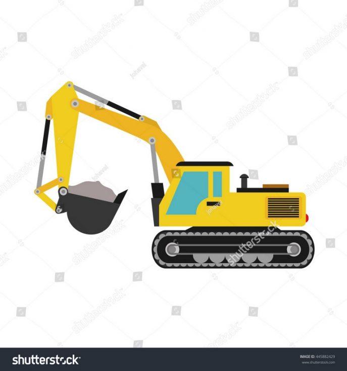687x733 Excavator Excavator Liebherr Hydraulic Shovel Cat Hydraulic