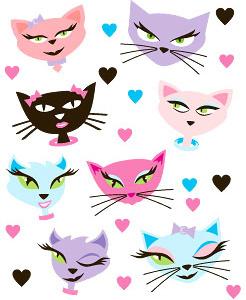 246x300 Cartoon Cat Eyes Free Vector Download (15,510 Free Vector)