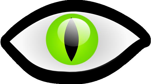 600x334 Cat Eye Clip Art